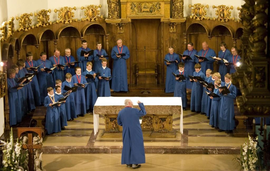 choir in spain